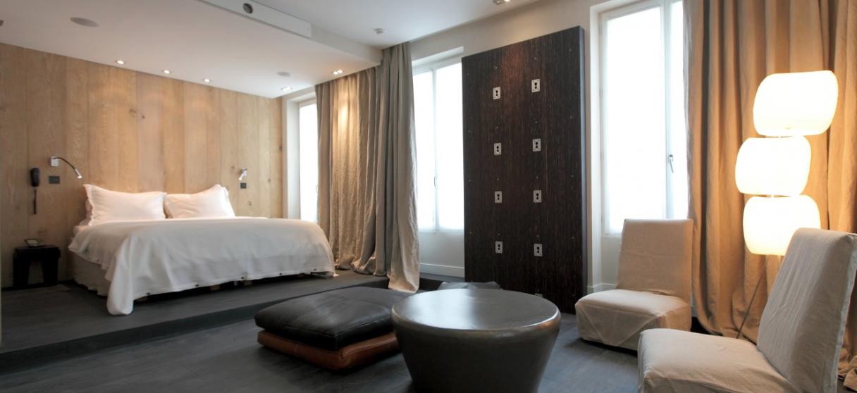 Un h tel chic et nature au coeur de paris - Tete de lit hotel de luxe ...