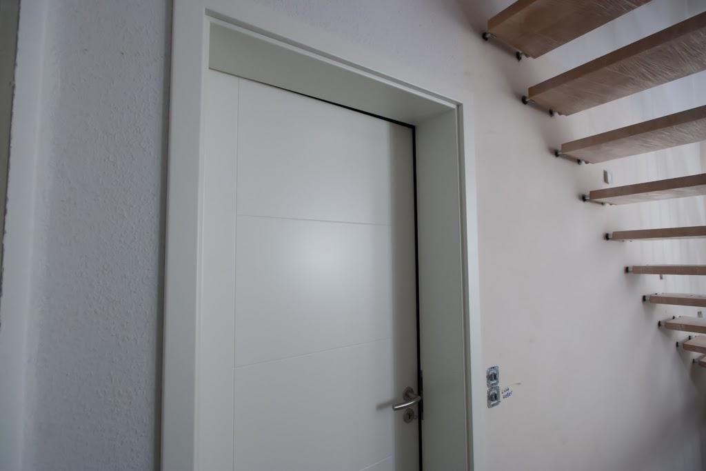 Highlight (für Uns ; )) Der Innentüren Ist Das Blockrahmenelement Zum  Wohnzimmer Mit Der Glastür, Die Sich Optisch Super Zu Den Anderen Türen Mit  Den ...
