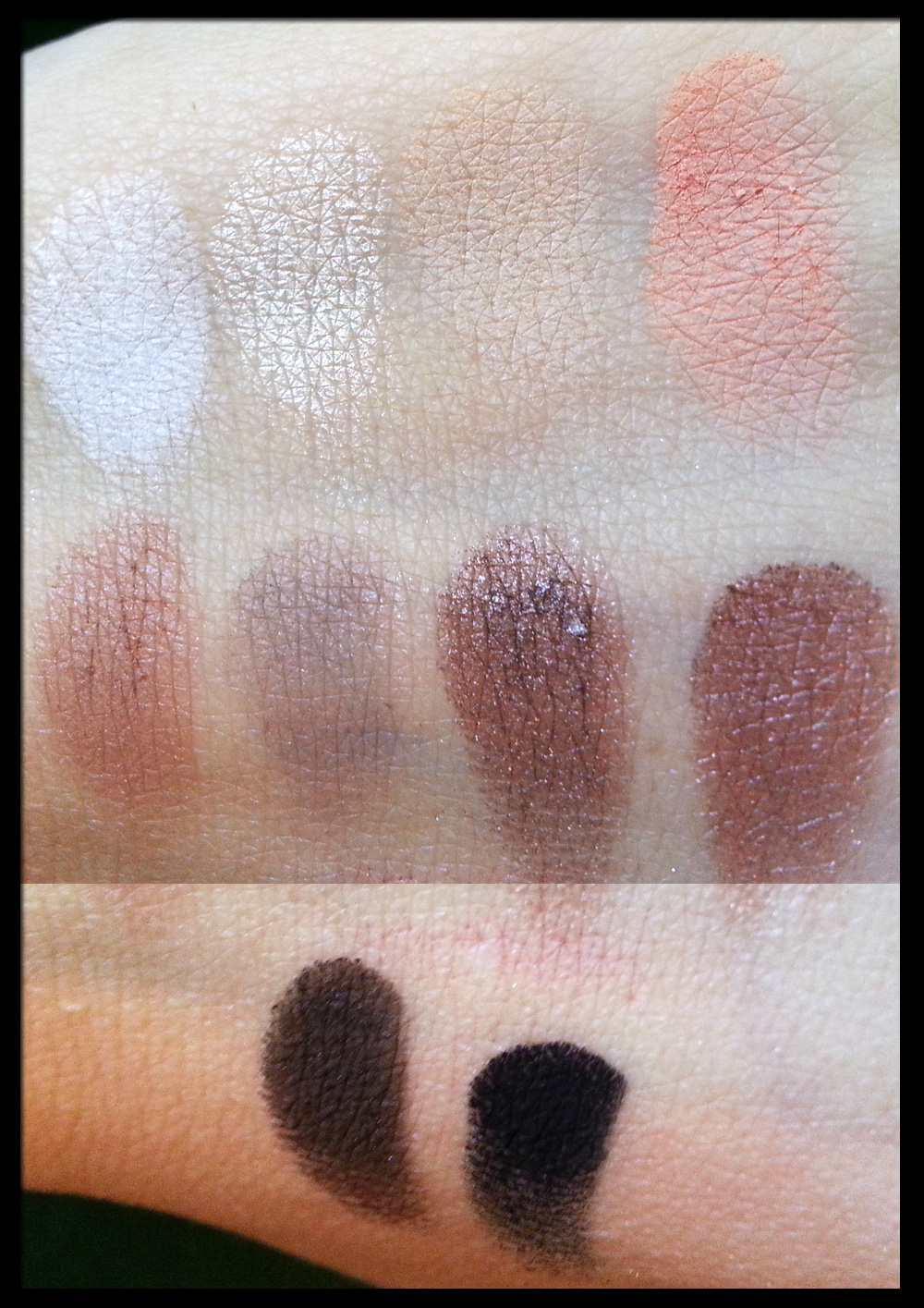 Neve Cosmetics - Palette Elegantissimi - Swatch
