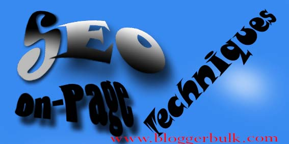 Best On-Page SEO techniques for new blogger
