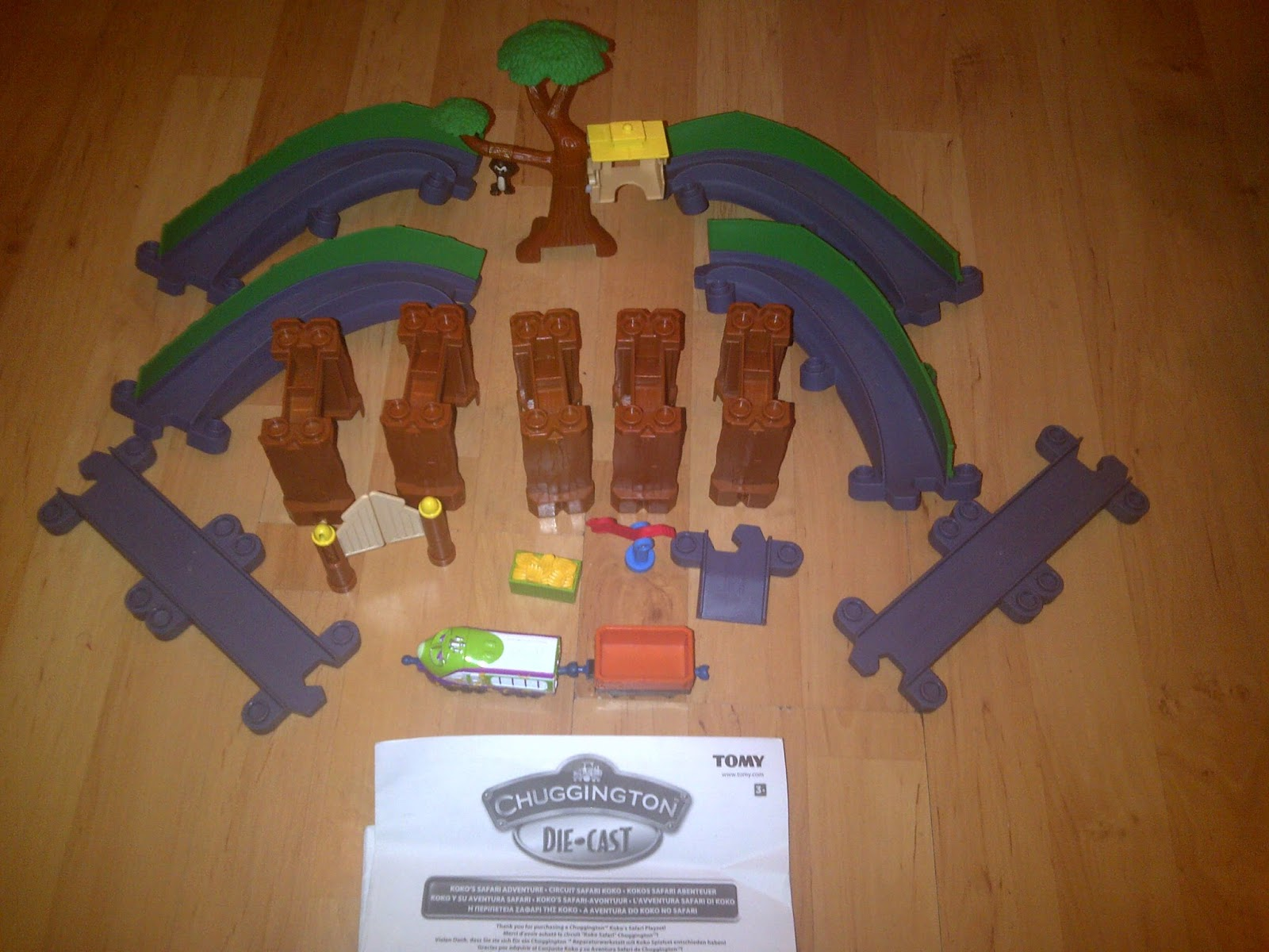 chuggington stack track instructions