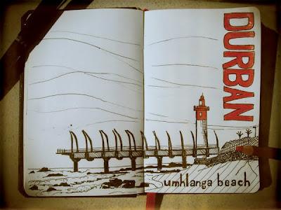 Sketch - Umhlanga Pier