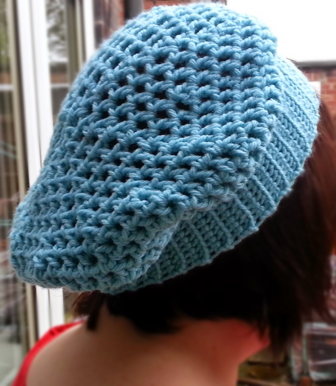Easy Chunky Crochet Hat Pattern : Hooking Crazy: Quick and easy slouchy