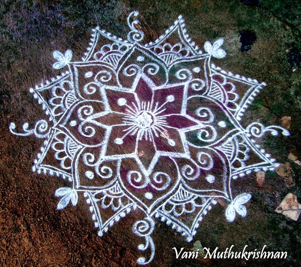 Kolam Designs 11