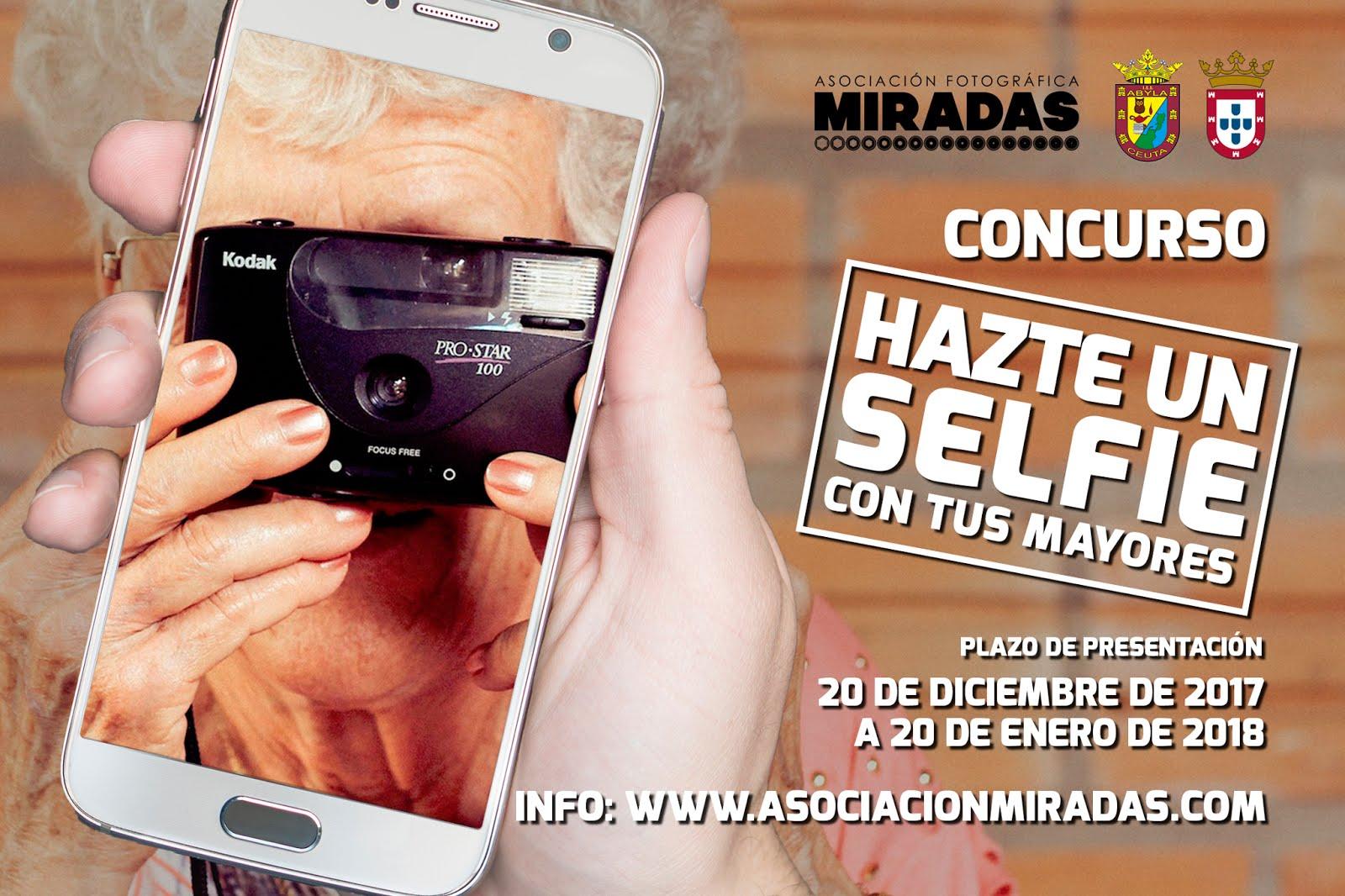 Concurso 'Hazte un selfie con tus mayores'