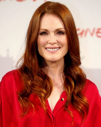 Julianne Moore CINNAMON red hair