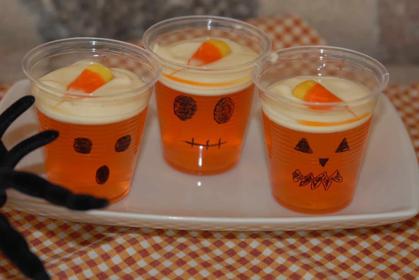 enkel halloween mat