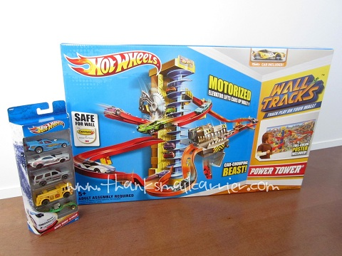 Hot Wheels Wall Tracks Power Tower Tracks review