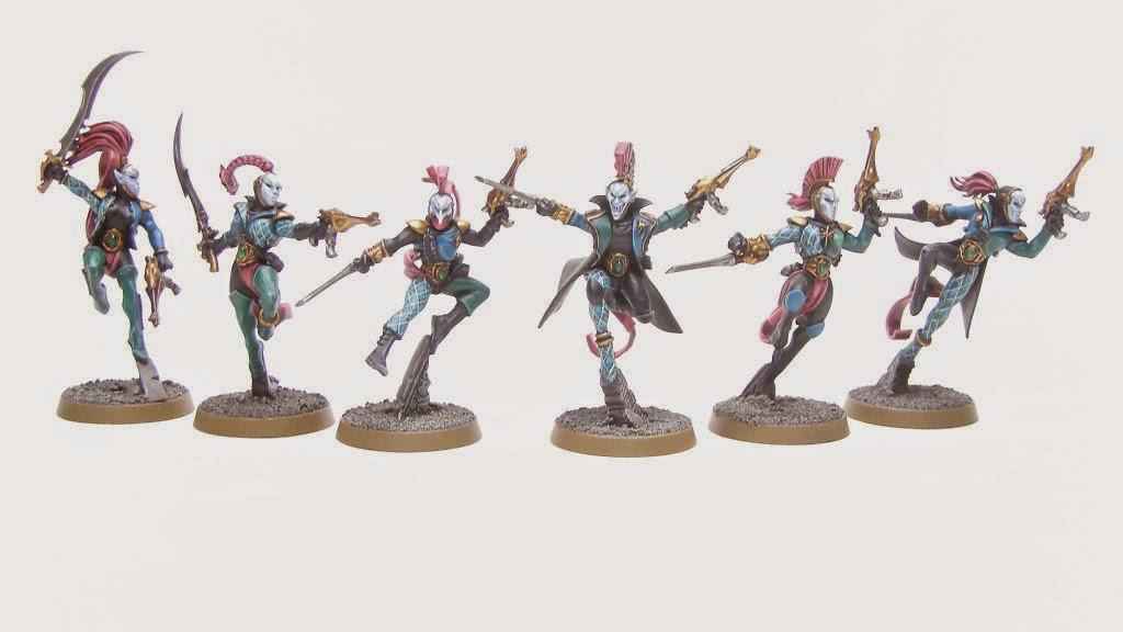 Cómo pintar un Troupe de Arlequines