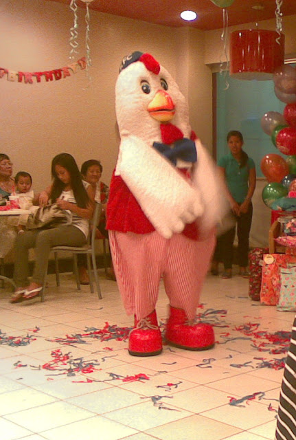Chuckie, the KFC mascot