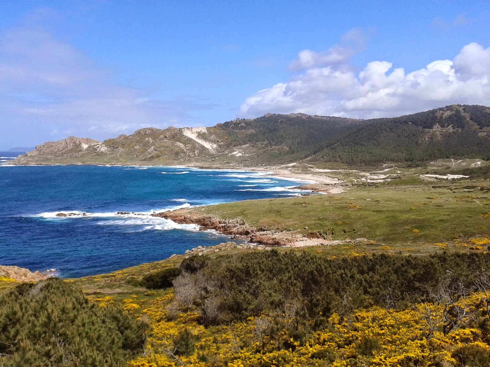 Playa de Trece en Camariñas