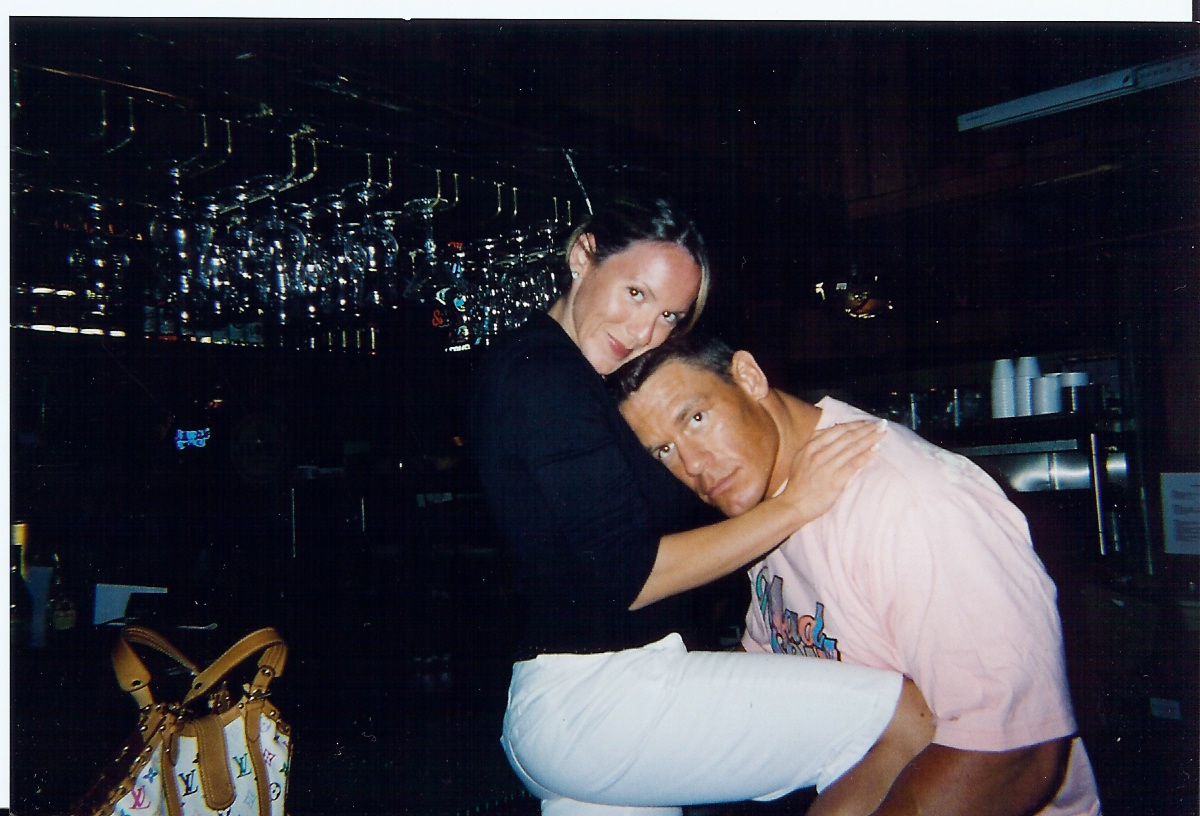 All sports players john cena with his ex wife elizabeth photos 2012