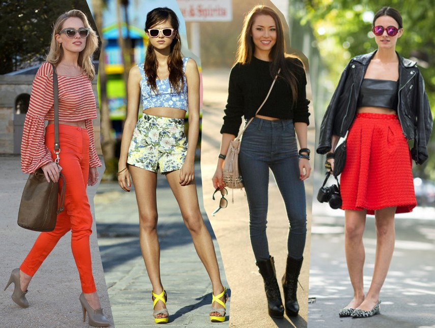 Top Fashion Blog: Ways To Wear The Crop Top Trend Spring 2014