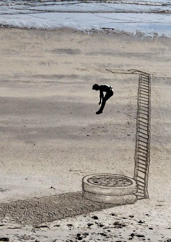 Jamie Harkins Sand Art