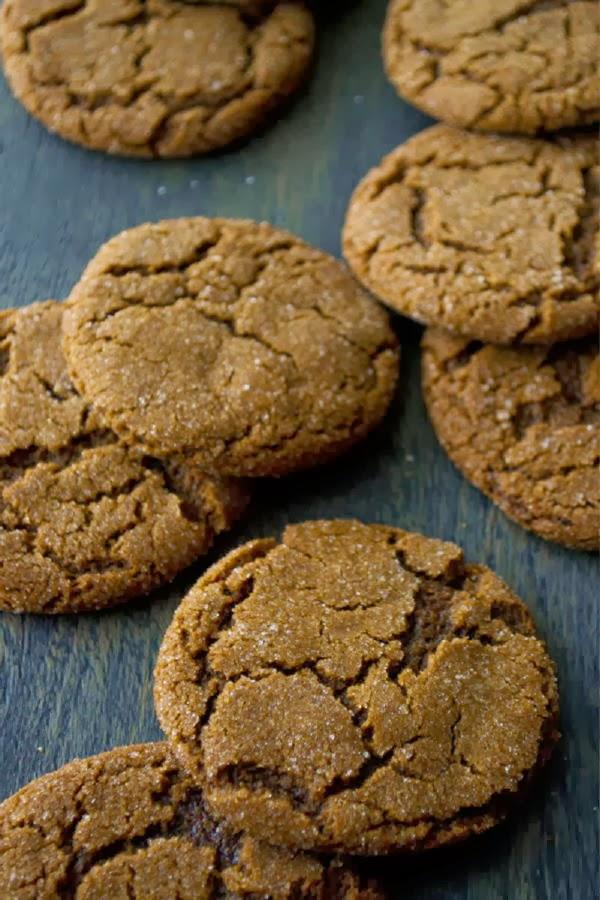Molasses Cookies...