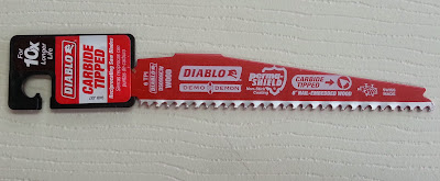 Diablo Demo Demon Carbide Reciprocating Saw Blade