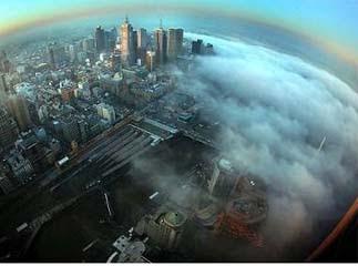 墨爾本 怪霧 迷霧驚魂