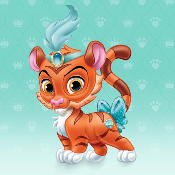 Novedades disney palace pets pumpkin dresses up - Tigre de jasmine ...
