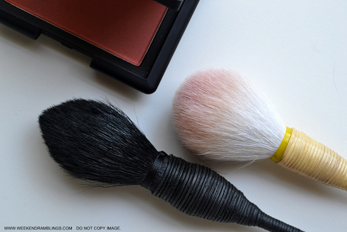 NARS Yachiyo Kabuki Makeup Blush Brush - Indian Beauty Blog Reviews Comparison How to Use