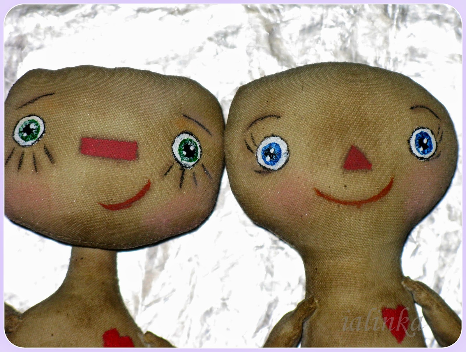 рисование глазки куклам