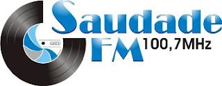 ouvir a radio saudade fm 100,7 Santos SP