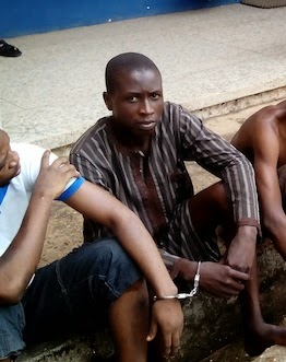 Ibrahim Adamu is currently in the police net in Benin city for allegedly shaving the pubic hair of a 25-year old woman, Jumai Jasper,