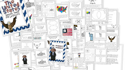 http://www.teacherspayteachers.com/Product/The-United-States-Symbols-People-and-Landmarks-A-mini-unit-494356