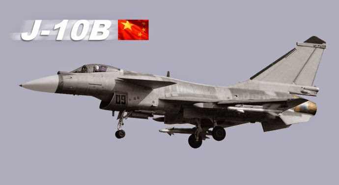 China J-10B Fighter Jet