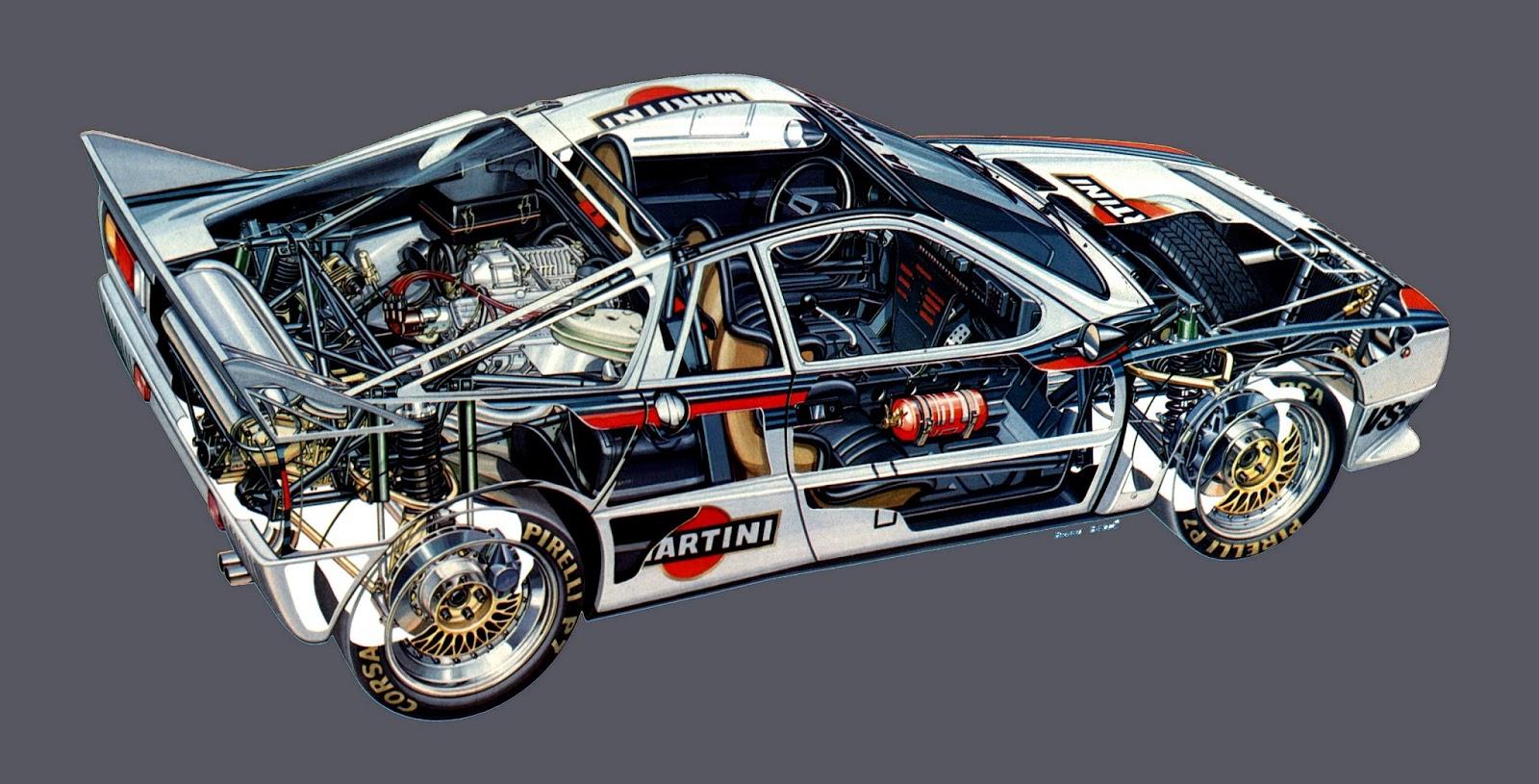 Stormwheels Lancia 037 La Due Ruote Motrici Mondiale