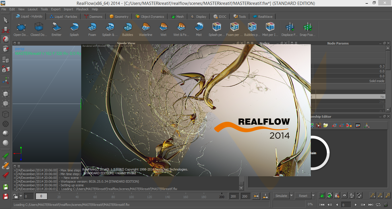 RealFlow 2014