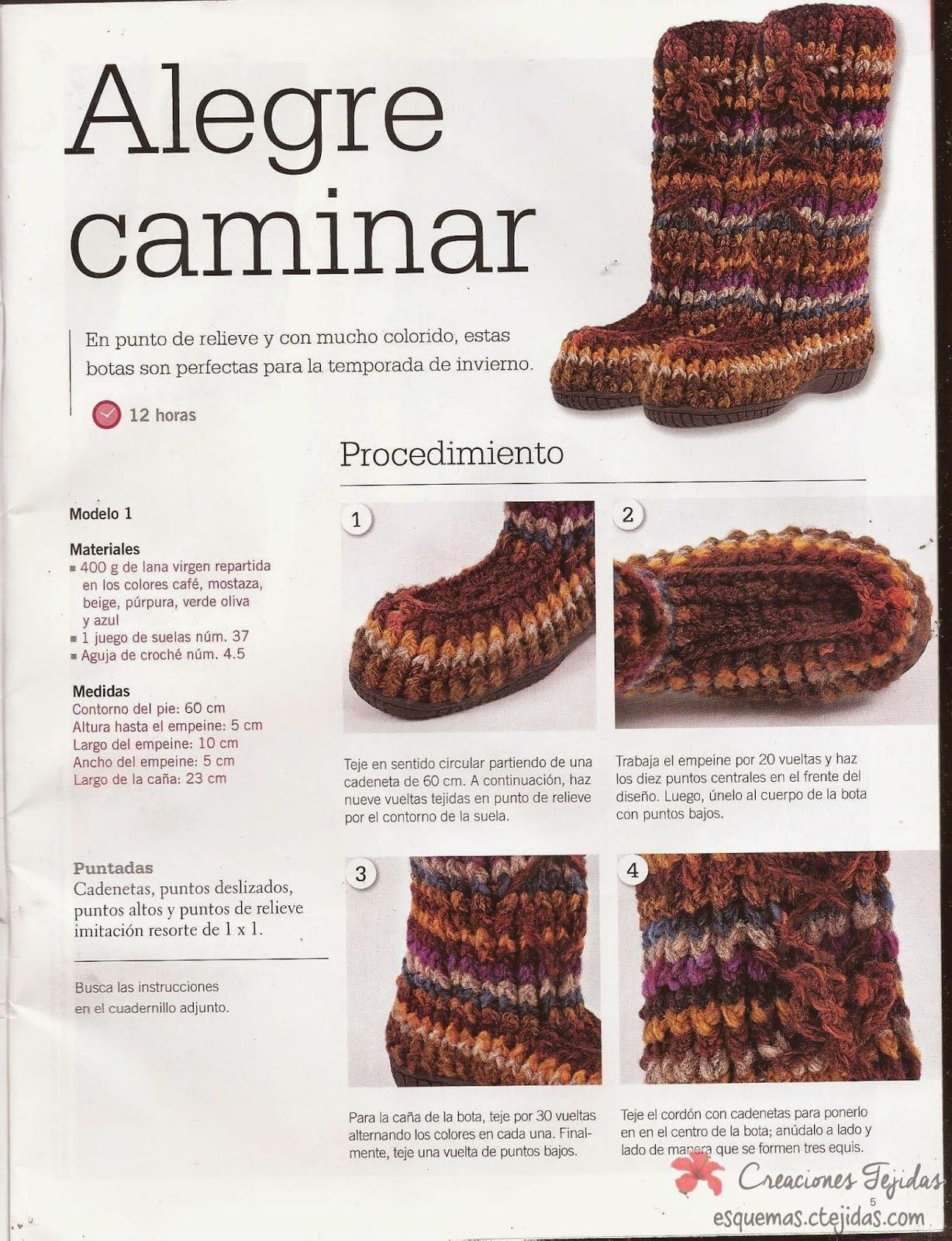Zapatos a Crochet | Botas