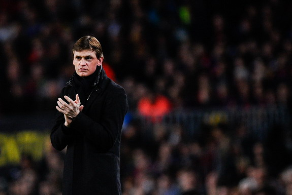 Tito Vilanova missed a large portion of last season after a course of chemotherapy and radiotherapy