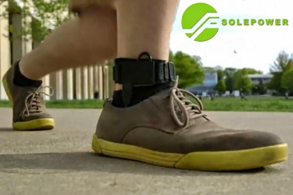 SolePower, carga la batería de tus dispositivos móviles caminando