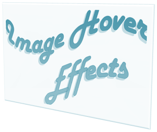 Image Hover Effects For Blogger