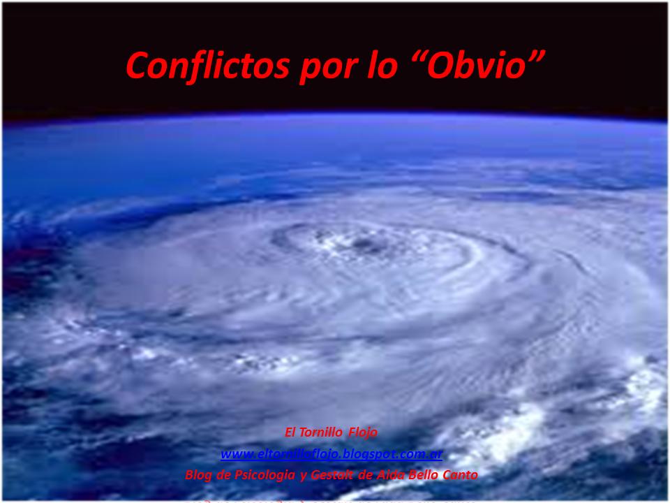 Gestalt, Psicologia, Conflictos, Emociones, Actitud, Aida Bello Canto