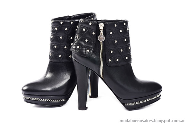 Botas otoño invierno 2015. Moda calzado femenino otoño invierno 2015 Saverio Di Ricci.
