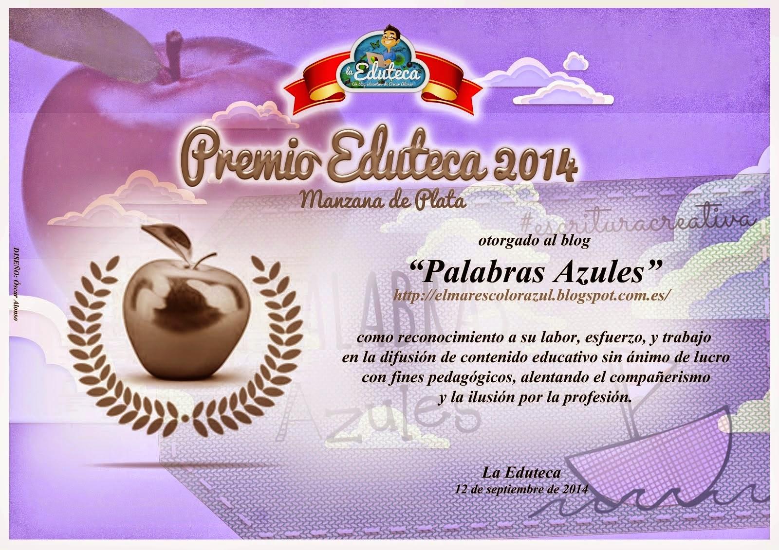 Premio Manzana de Plata La Eduteca