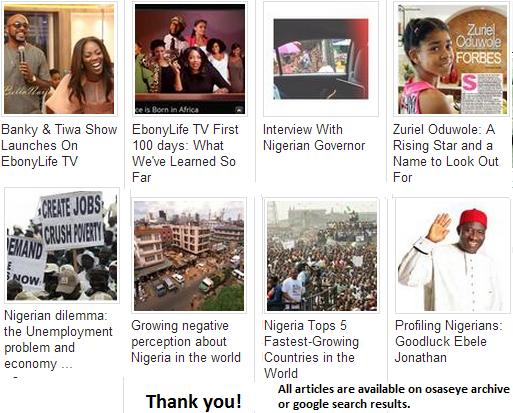 Nigeria News on osaseye