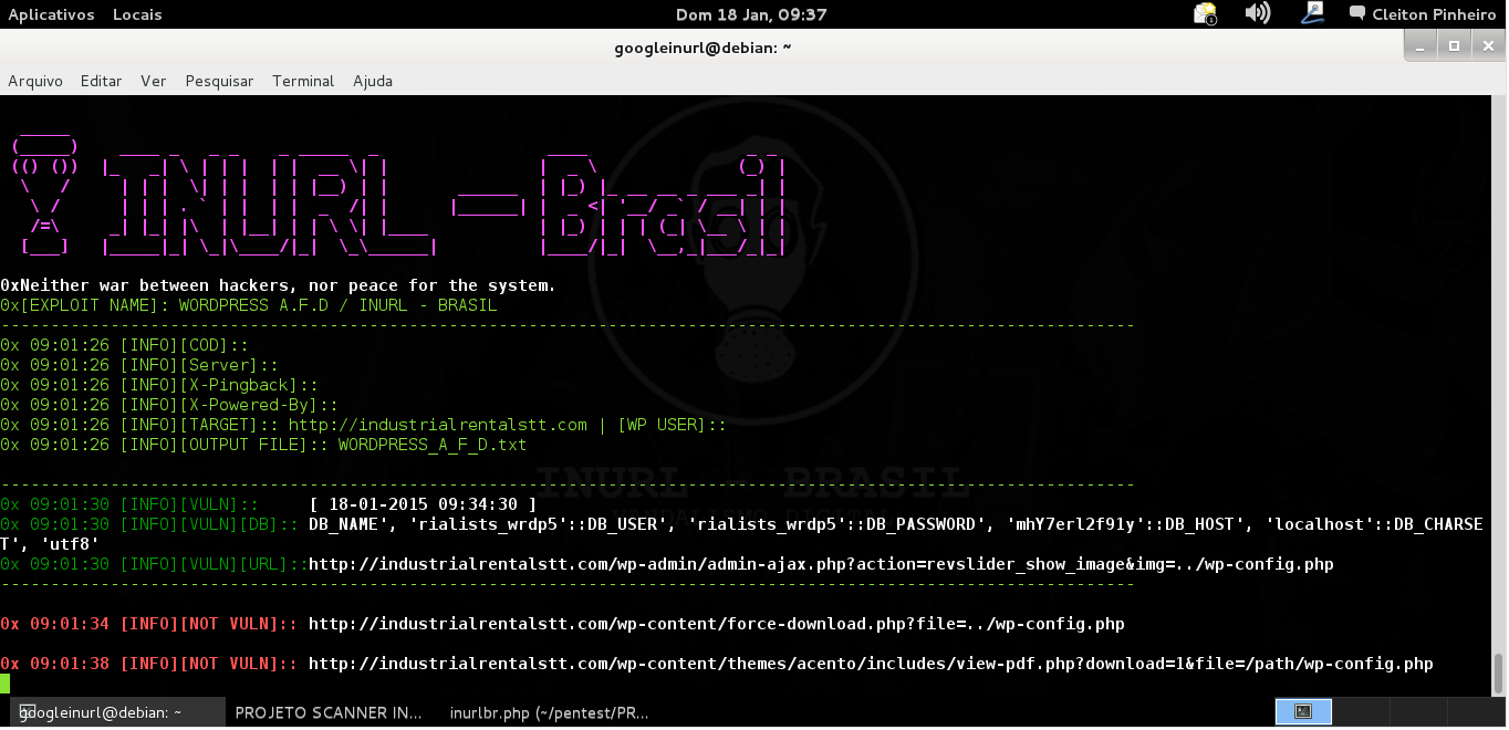 [EXPLOIT]: Wordpress A.F.D Verification/ INURL - BRASIL