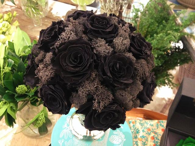 Ramo De Rosas Negras Imagenes - RAMO NOVIA ROSAS NEGRAS