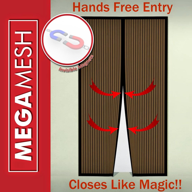 Debras Random Rambles Mega Mesh Premium Magnetic Screen Door
