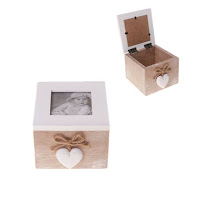 Farmhouse Chic Keepsake Photo Box from Maia Gifts
