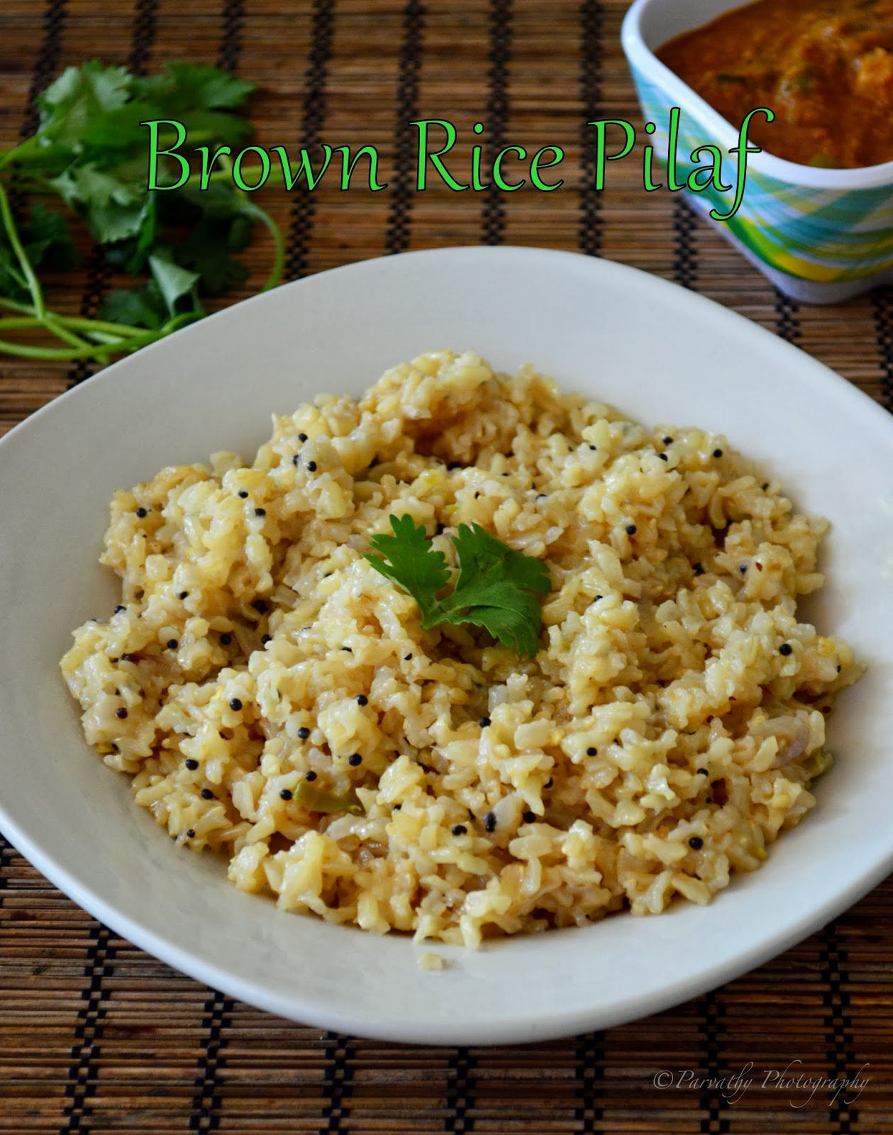 Brown rice pilaf how to cook brown rice rice cooker method ccuart Images
