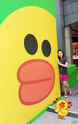 Me and Sally LINE Friends