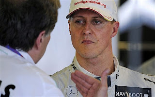 michael schumacher mercedes gp 2013