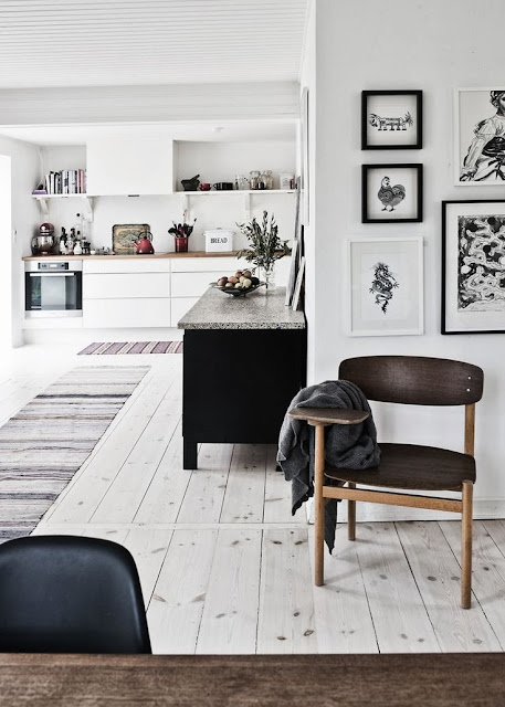 Scandinavian design colour scheme