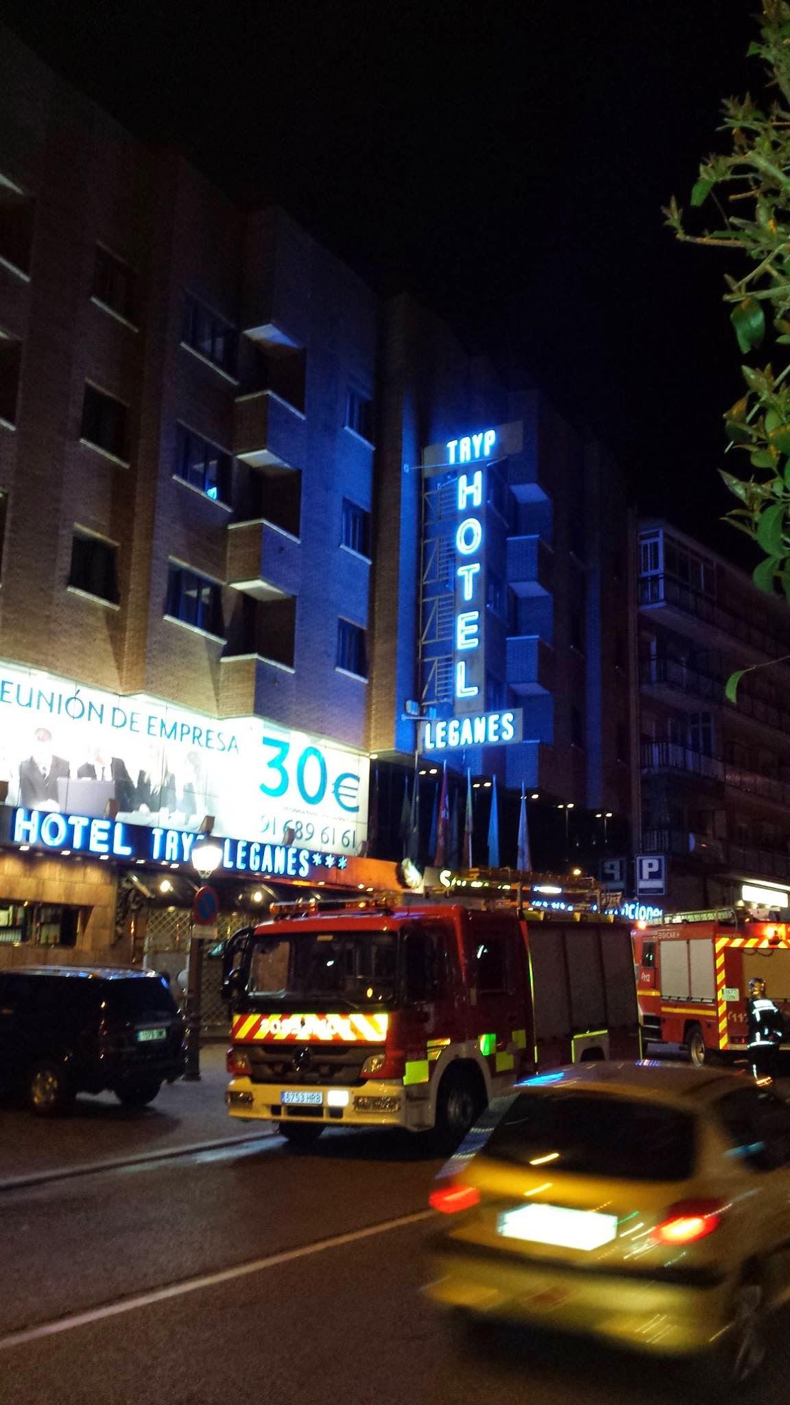incendio hotel tryp leganes leganesactivo