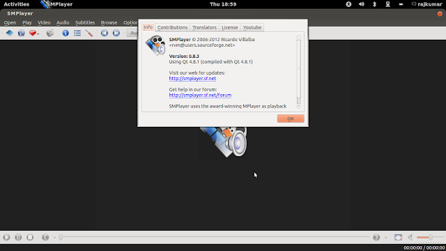 Install smplayer in linux mint