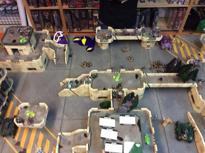 Desplegando tropas en el turno 1 DA
