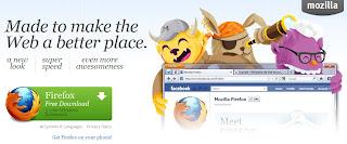Fitur Terbaru Browser Mozilla Firefox 5.0